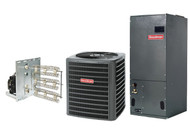Goodman 1 1/2 Ton 15 SEER Heat Pump Split System R410a with X-13 Type High Efficiency Blower