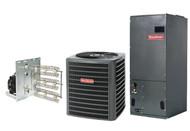 Goodman 2 1/2 Ton 14 SEER Heat Pump Split System R410a with X-13 Type High Efficiency Blower