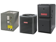 Goodman 96% 80,000 BTU Gas Furnace and 3 1/2 ton 16 SEER AC System