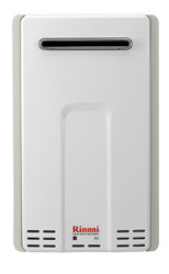 Rinnai V75eN Exterior Natural Gas Tankless Water Heater