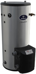 Westinghouse 100 Gallon WGCM100NG199 Stainless Steel, Gas Fired Commercial Water Heater - Natural Gas