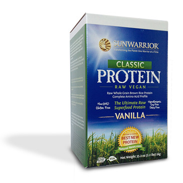 SunWarrior Classic Raw Vegan Whole Grain Protein