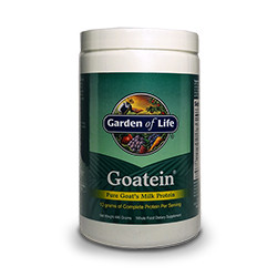 Thumbnail view of a container of Goatein Milk Protein Powder by Garden of Life.