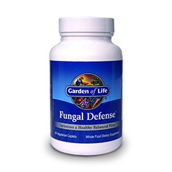 Thumbnail view of a bottle of Fungal Defense by Garden of Life.