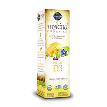 Garden of Life Kind Organics Vegan D3
