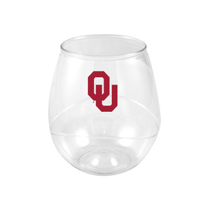 Oklahoma 16oz Plastic Beverage (set of 4)