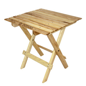 Indiana Tailgate Wood Table