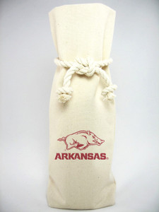 Arkansas Canvas Bottle Tote