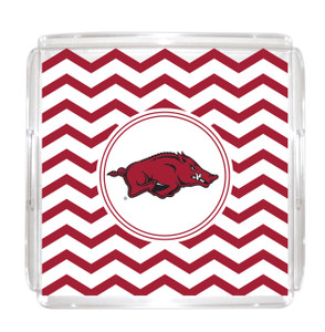 Arkansas Lucite Tray 12x12