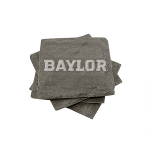 Baylor Slate Coasters (set of 4)
