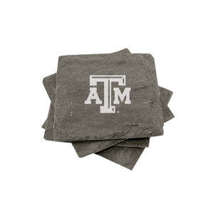 Texas A&M Slate Coasters (set of 4)