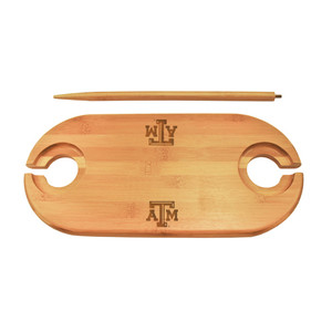 Texas A&M Bamboo Picnic Table