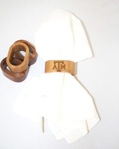 Texas A&M Napkin Rings