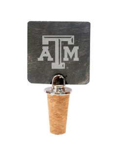 Texas A&M Slate Bottle Stopper