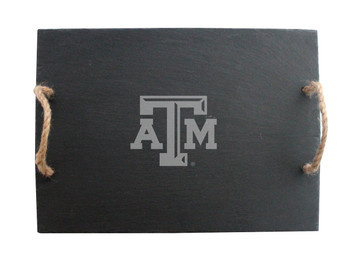 Texas A&M Slate Server w/ Rope Handles