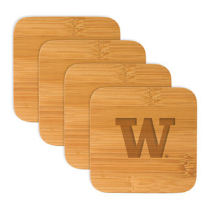Washington Bamboo Coasters