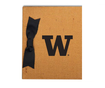 Washington Burlap Brag Book