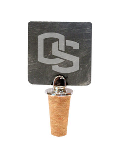 Oregon State Slate Bottle Stopper