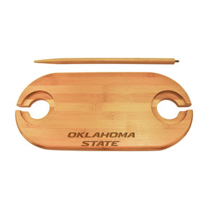 Oklahoma State Bamboo Picnic Table