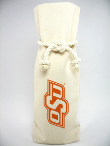 Oklahoma State Canvas Bottle Tote