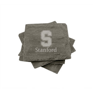 Stanford Slate Coasters (set of 4)