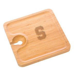 Stanford Bamboo Party Plate