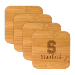 Stanford Bamboo Coasters