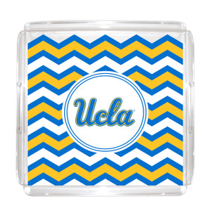 UCLA Lucite Tray 12x12