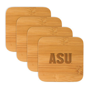 Arizona State Bamboo Coasters