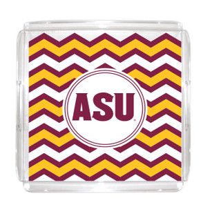 Arizona State Lucite Tray 12x12