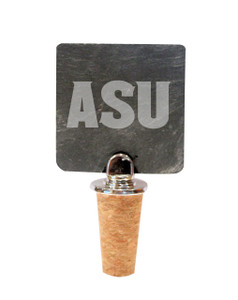 Arizona State Slate Bottle Stopper