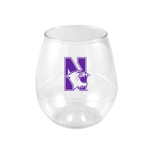 Northwestern 16oz Plastic Beverage (set of 4)