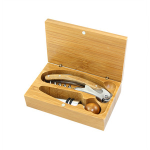 Northwestern Bamboo Corkscrew Set