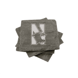 Northwestern Slate Coasters (set of 4)