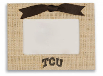 Texas Christian Vintage Photo Frame