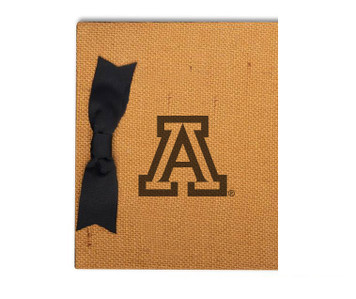 Arizona Burlap Brag Book