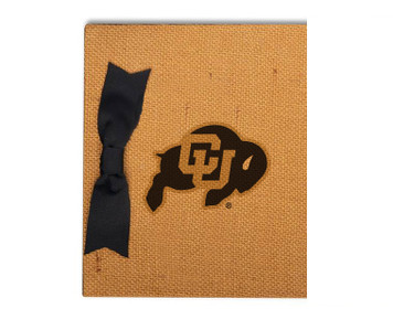 Colorado Burlap Brag Book