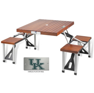 Kentucky Folding Picnic Table for 4