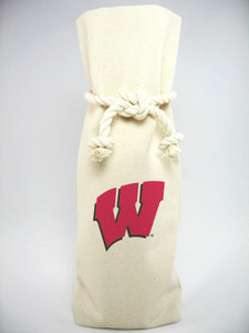 Wisconsin-Madison Canvas Bottle Tote
