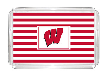 Wisconsin-Madison Lucite Tray 11x17