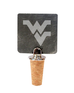 West Virginia Slate Bottle Stopper