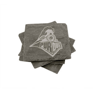 Purdue Slate Coasters (set of 4)