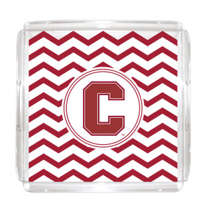 Cornell Lucite Tray 12x12