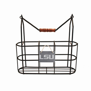 LSU Vintage Bottle Carrier