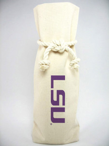 LSU Canvas Bottle Tote