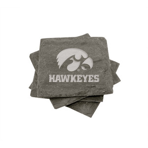 University of Iowa Slate Coasters (set of 4)