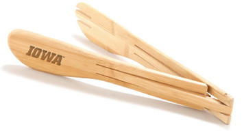 University of Iowa Bamboo Tongs