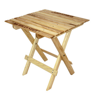Michigan State Tailgate Wood Table