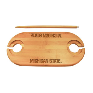 Michigan State Bamboo Picnic Table