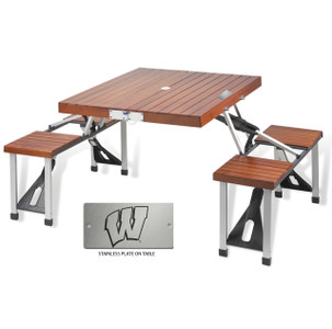 Wisconsin Folding Picnic Table for 4